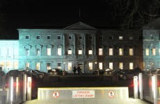 Leinster House will open its doors to 1,650 people tonight (so no need to scale the fence, then)