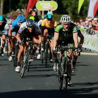 Look how happy Sam Bennett's team manager is after Tour of Britain stage win