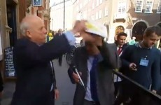 "UKIP MEP whacks journalist on the head and defends his use of the word ""sluts"""