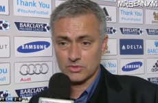 'I think you are very good, but Chelsea manager is not Jamie Redknapp' - Jose Mourinho
