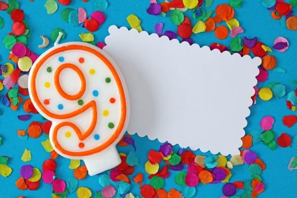 Поздравительные открытки ребенку 9 месяцев, марта
