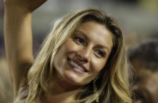 Gisele Bundchen - too sexy for the Middle East?