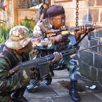 Heavy gunfire and explosions heard as siege continues at Kenyan shopping mall