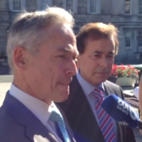 Watch: Ministers won't answer questions on U2's tax affairs or Arthur's Day