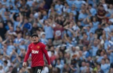 'Sloppy goals' cost United against City - Wayne Rooney