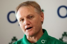 Joe Schmidt: November Series will be a trial run for Ireland's new captain