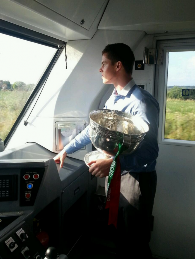 Don't forget there is an All-Ireland football trophy heading for Mayo tonight