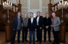 Russia's Medvedev fulfills lifelong dream to meet Deep Purple