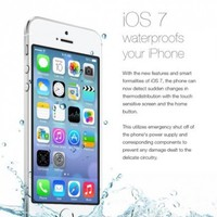iPhone users fooled by fake 'waterproof' update