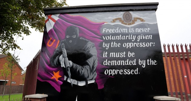 UVF mural with Martin Luther King quote replaces George Best tribute