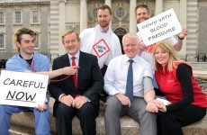 Father Ted star's sons join Taoiseach to launch blood pressure roadshow