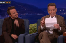 Bryan Cranston reads his most erotic fan letter ever