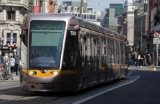 Luas disrupted after incident at Smithfield