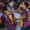 Neymar scores first league goal as Barca keep up perfect start