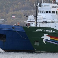 Greenpeace activists could face 15 years in Russian prison for piracy