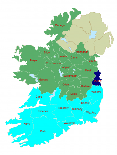 Dublin a three-seater in Ireland's new-look European constituency map