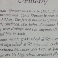 'Loving' father's obituary ends on surprising note
