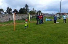 Check out this amazing display of goalkeeping from an Under-6 hurling star in Kerry