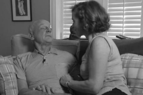 Dr. Donald Low with his wife. He passed away on 18 September 2013, seven months after being diagnosed with terminal brain cancer.