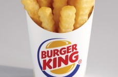 Burger King launches low-fat chips... but not in Ireland