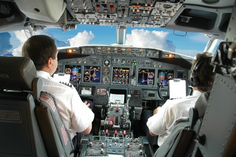 The pilots are believed to have been sleeping in shifts.