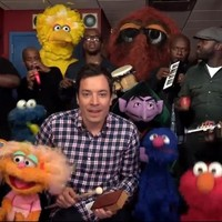 Sweep the clouds away with Elmo, Jimmy Fallon and The Roots