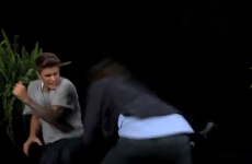 Watch Justin Bieber getting his arse slapped... it's The Dredge