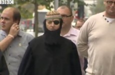 Loyalist protester Willie Frazer turns up at court dressed as Abu Hamza