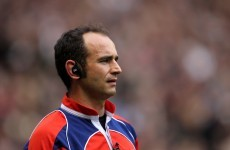 Referees announced for opening rounds of the Heineken Cup