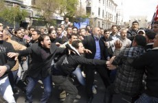Violence erupts around Syria, protesters shot
