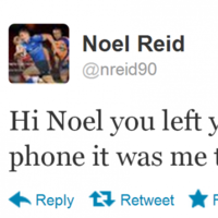 Deary me, Noel! It's the sporting tweets of the week