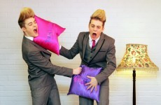Jedward take on Vincent Browne