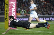 All Blacks close in on Rugby Championship after late win over Argentina