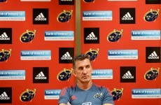Penney happy with squad depth as Munster get back to winning ways
