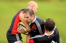 Peter Stringer wins battle of the former Munster scrumhalves
