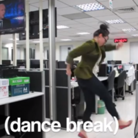 Frustrated employee quits job... by making this brilliant dance video