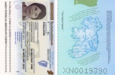 PICS: This is the new-look Irish passport