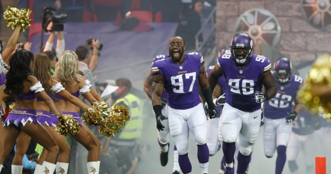 Vikings get the better of Steelers as London welcomes the NFL to town