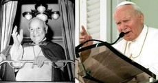 These two former popes will be made saints in April next year