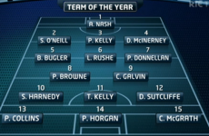 Do you agree with The Sunday Game's hurling team of the year?