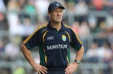 Jack O'Connor back in charge of Kerry... as minor football boss