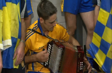 VIDEO: Banner men go accordion mad in Croke Park dressing room