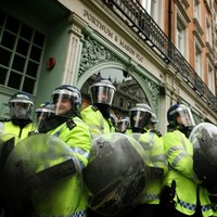 London counts cost as over 200 arrested in post-demonstration riots