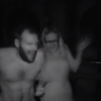 Take a trip inside a 'naked haunted house'