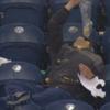 Drunk American football fan drowns his sorrows in popcorn