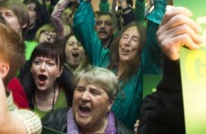 Merkel's Christian Democrat party loses support to Greens