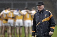 Antrim surprised by Frank Dawson's resignation