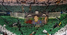 'Your fear is here': The stunning tifo Celtic fans had on display against Barca