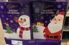 Well, the advent calendars are in the shops ALREADY