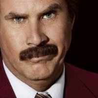 Ron Burgundy has a book, and here's the cover